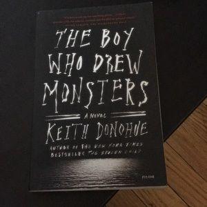 The boy who drew monsters novel brand new